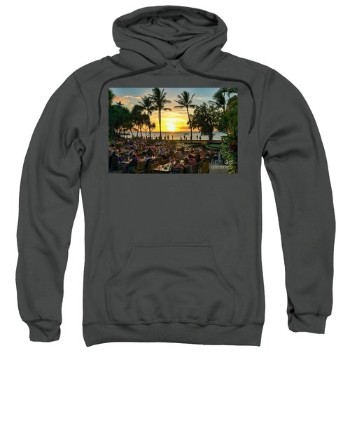 Sunset At Old Lahaina Luau #1 Sweatshirt
