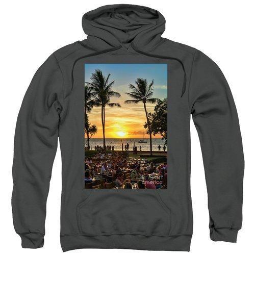 Sunset At Old Lahina Luau #2 Sweatshirt