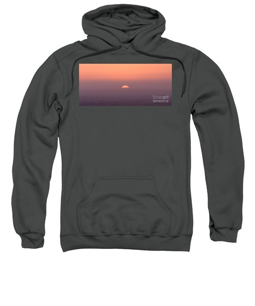 Sweatshirt featuring the photograph Sunset At Pacifica by Peter Simmons