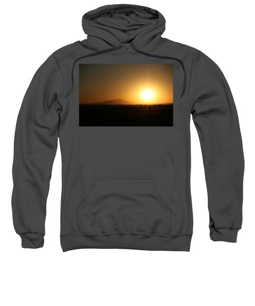 Sunset At Roswell New Mexico  Sweatshirt