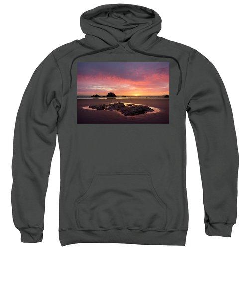 Sunset At Ruby Beach Sweatshirt