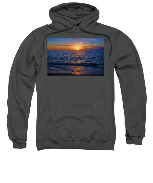Sunset At The Beach In Naples, Fl Sweatshirt