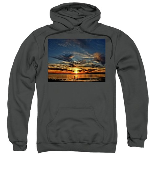 Sunset At The Waters Edge Sweatshirt