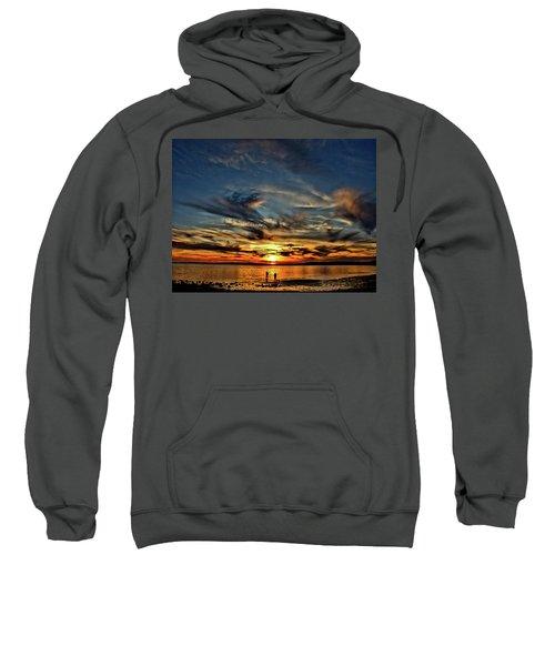Sunset At The Waters Edge Sweatshirt
