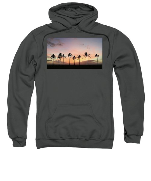 Sunset Behind The Palms Sweatshirt