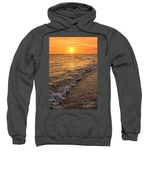 Sunset Bowman Beach Sanibel Island Florida  Sweatshirt