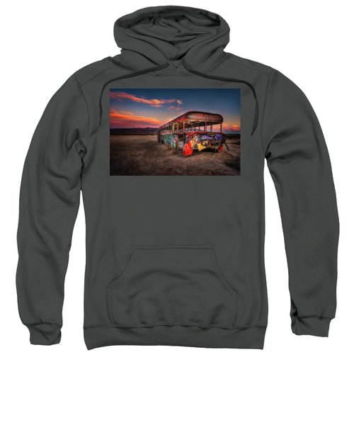Sunset Bus Tour Sweatshirt