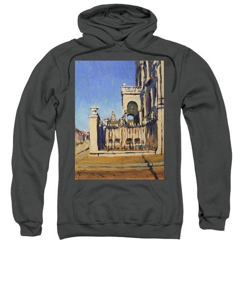 Sunset Cityhall Maastricht Entrance Sweatshirt