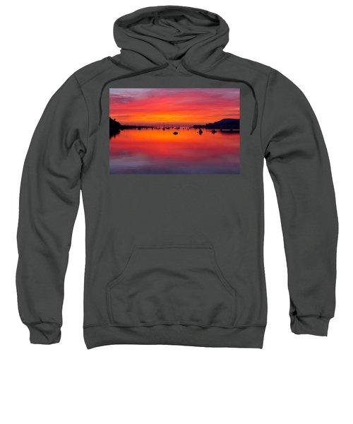 Sunset, Conwy Estuary Sweatshirt