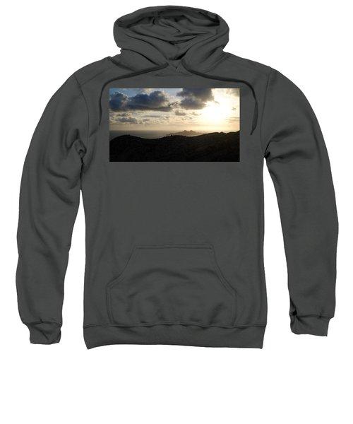 Sunset Dragon Island Sweatshirt