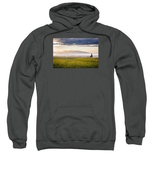 Sunset Eagle Sweatshirt