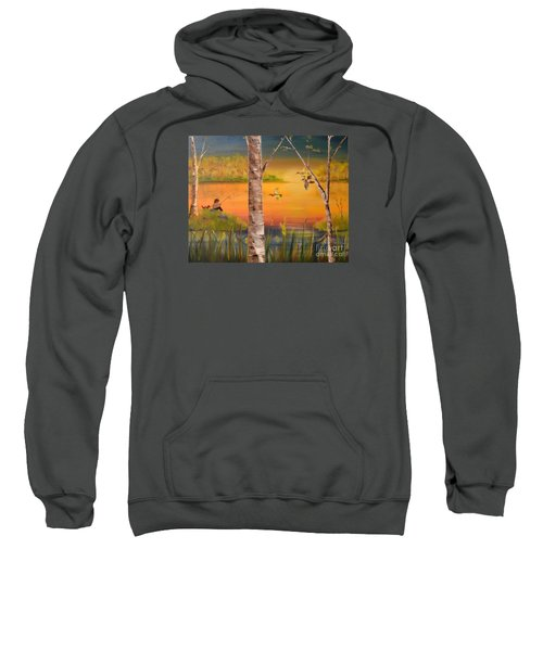 Sunset Fishing Sweatshirt