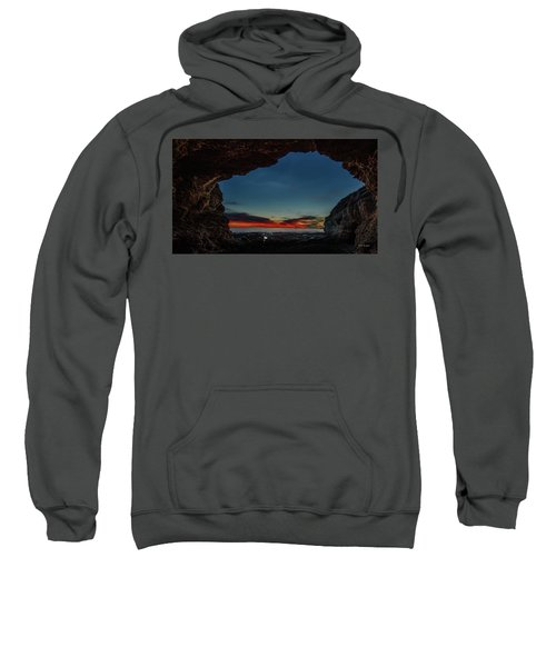 Sunset From Brady's Cave Sweatshirt