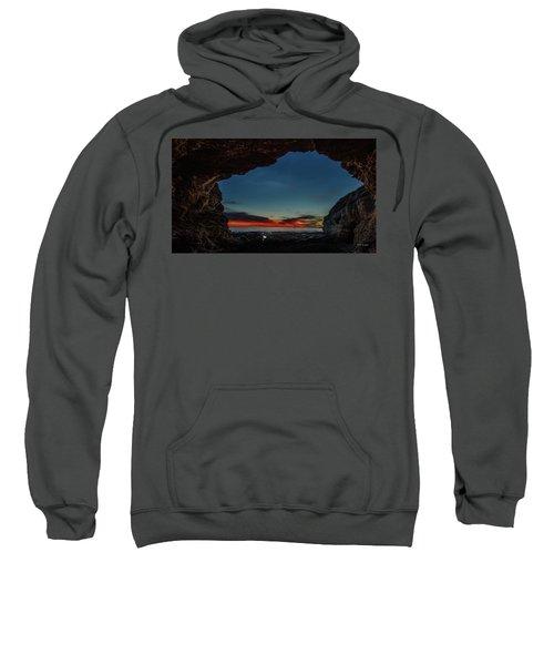 Sunset From Brady's Cave Sweatshirt
