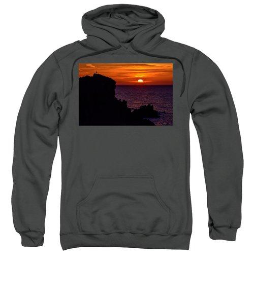 Sunset From Costa Paradiso Sweatshirt
