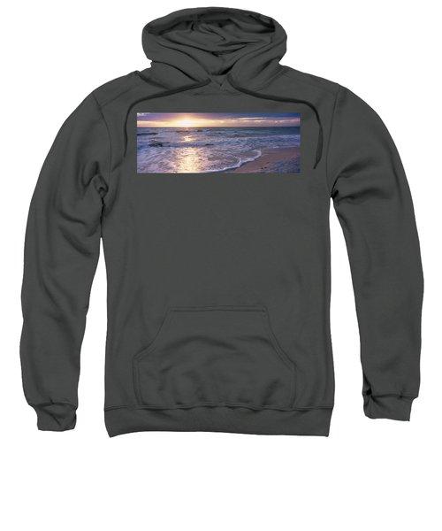 Sunset, Gulf Of Mexico, Florida, Usa Sweatshirt