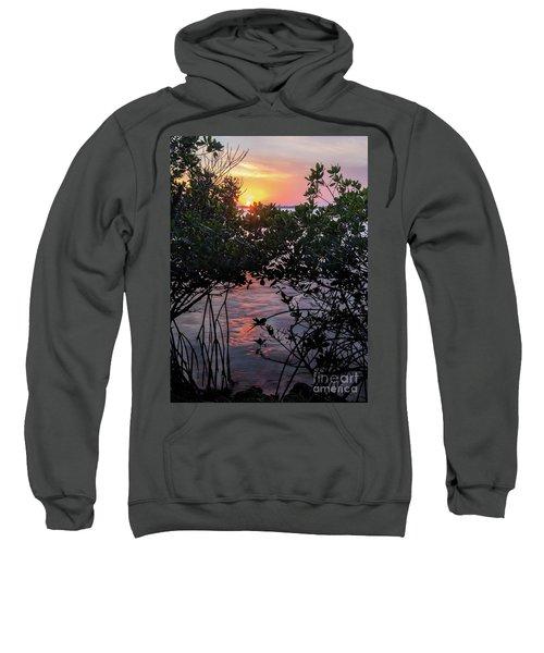 Sunset, Hutchinson Island, Florida  -29188-29191 Sweatshirt