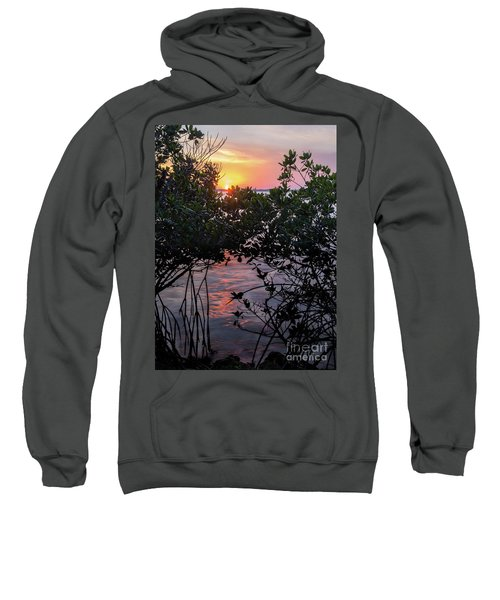 Sunset, Hutchinson Island, Florida  -29188-29191 Sweatshirt