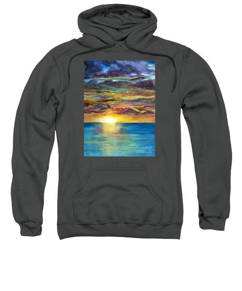 Sunset II Sweatshirt by Suzette Kallen