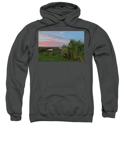 D32a-89 Sunset In Crystal River, Florida Photo Sweatshirt