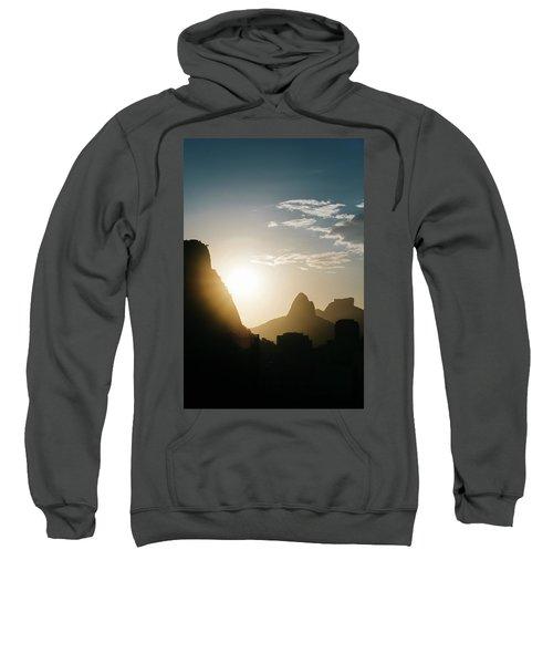 Sunset In Rio De Janeiro, Brazil Sweatshirt