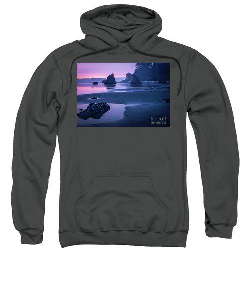 Sunset In Ruby Beach Sweatshirt