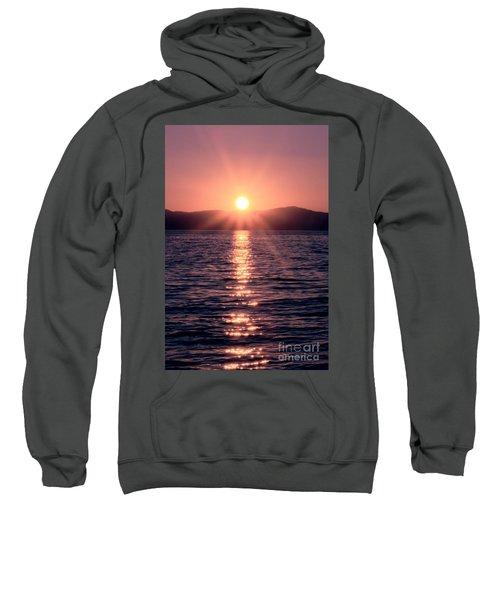 Sunset Lake Verticle Sweatshirt