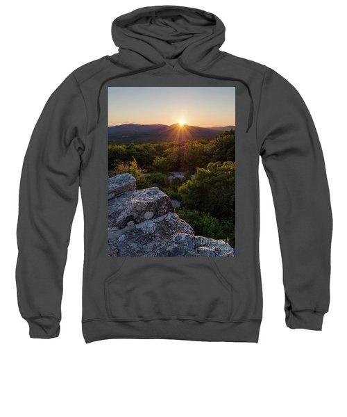 Sunset, Mt. Battie, Camden, Maine 33788-33791 Sweatshirt