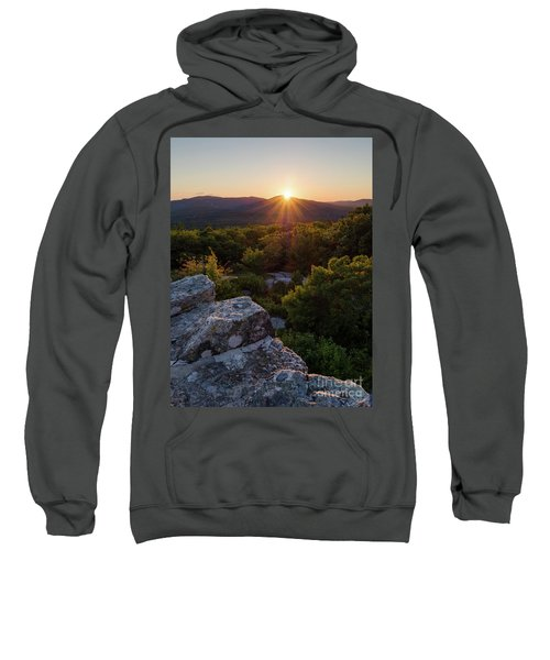 Sunset, Mt. Battie, Camden, Maine 33788-33791 Sweatshirt