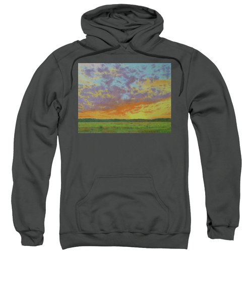 Sunset Near Miles City Sweatshirt
