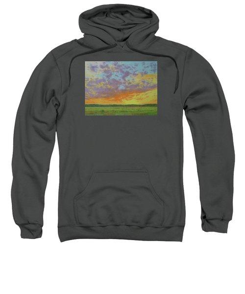 Sunset Near Miles City Sweatshirt