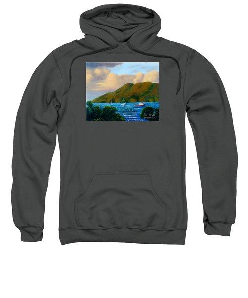 Sunset On Cruz Bay Sweatshirt