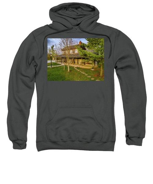 Sunset On The Cabin Sweatshirt