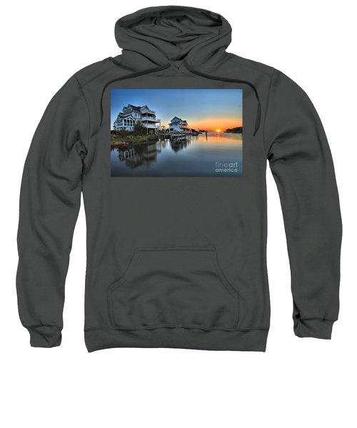 Sunset On The Obx Sound Sweatshirt