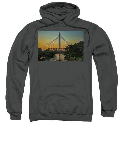 Sunset On The Trinity Sweatshirt