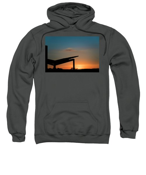 Sunset Over Austin City Limits Festival Week One 2017 Sweatshirt