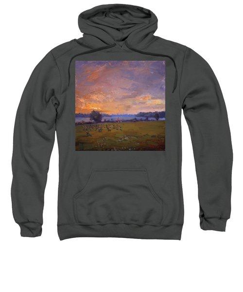 Sunset Over Gratwick Park Sweatshirt