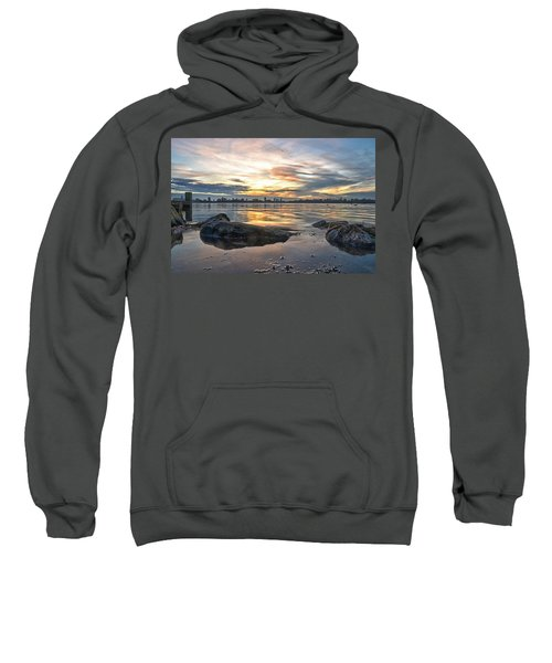 Sunset Over Lake Kralingen  Sweatshirt