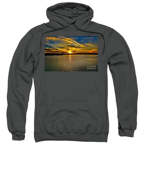 Sunset Over Lake Palestine Sweatshirt