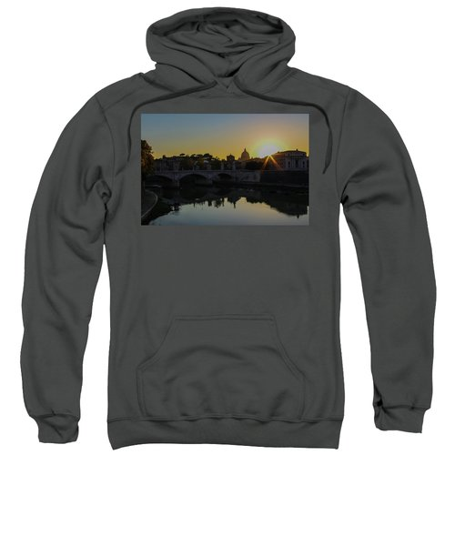 Sunset Over St Peters Sweatshirt