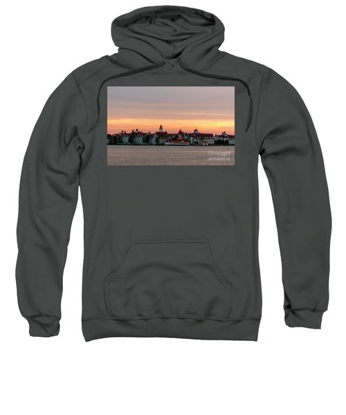 Sunset Over The Grand Floridian Sweatshirt