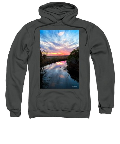 Sunset Over The Marsh Sweatshirt