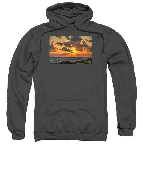 Sunset Over The Mediterranean  Sweatshirt