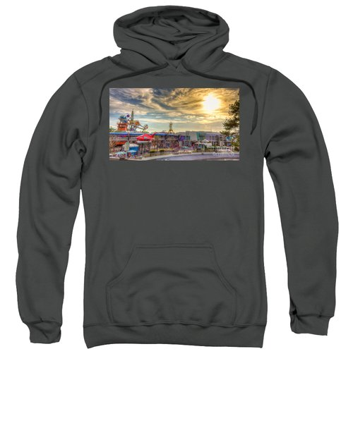 Sunset Over Tomorrowland Sweatshirt