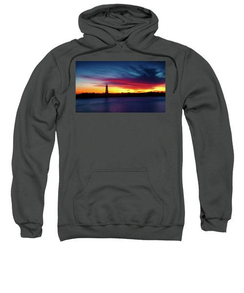 Sunset Over Walton Light Sweatshirt