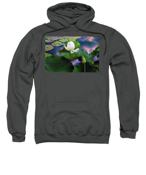Sunset Pond Lotus Sweatshirt