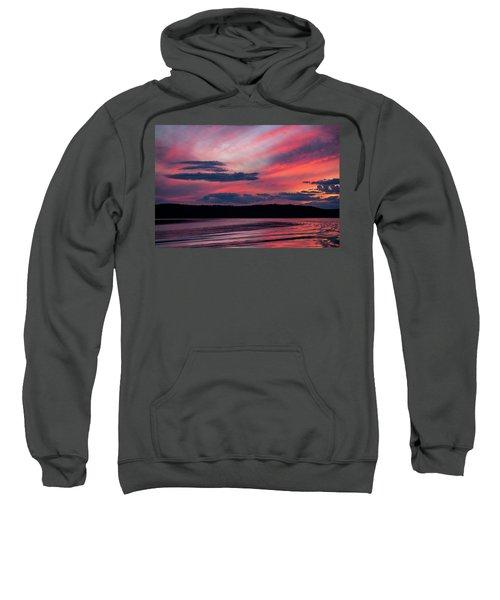 Sunset Red Lake Sweatshirt