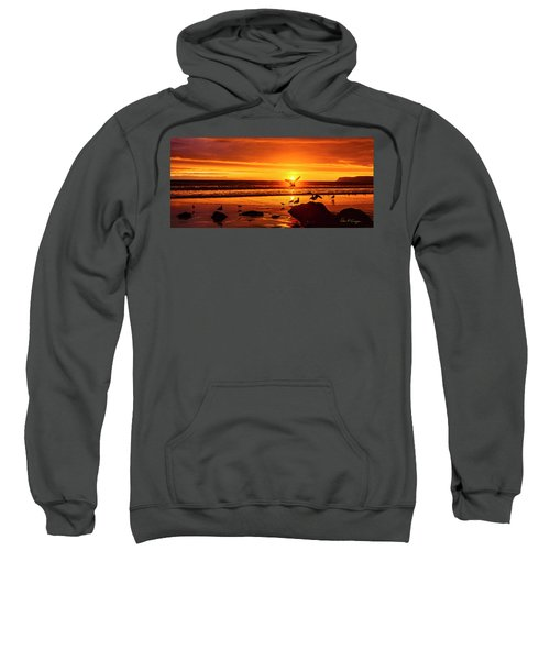 Sunset Surprise Pano Sweatshirt