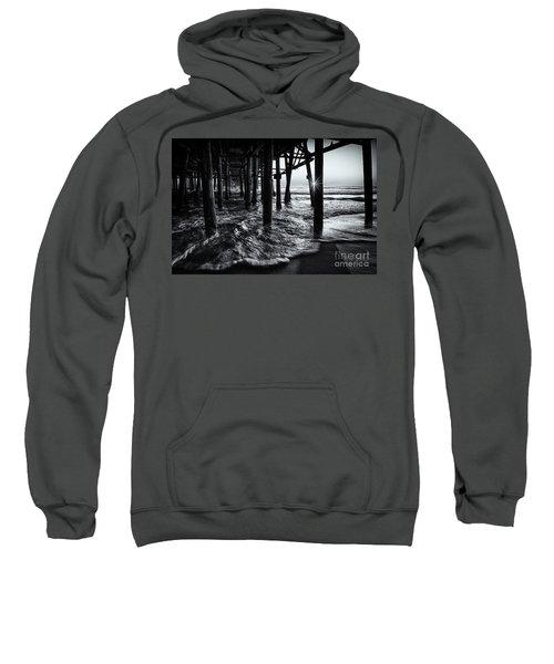 Sunset Under The Santa Monica Pier Sweatshirt