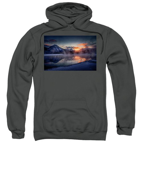 Sunset, Vermilion Lakes Sweatshirt
